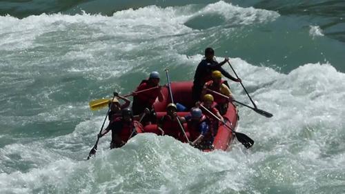 Rishikesh Rafting Camp, Rafting in Rishikesh