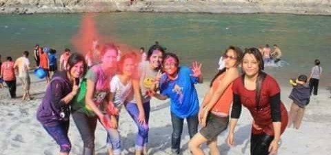 Rang De Rishikesh On Holi